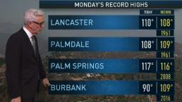 PM Forecast: Intense Heat Continues