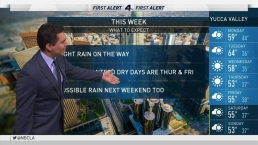 PM Forecast: Light Rain on the Way