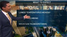 PM Forecast: Lower Temps Monday