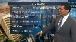 PM Forecast: Temperatures Warming Over the Next Few Days