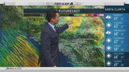 PM Forecast: The Rain Has Moved Out