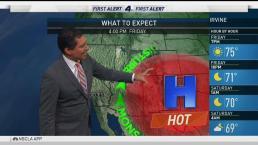 PM Forecast: Near Perfect Temperatures