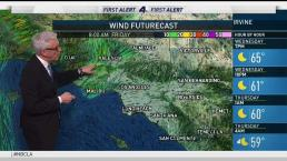 PM Forecast: Possible Wind Advisories