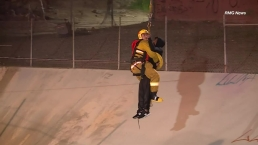 Watch: Firefighters Rescue Two From LA River Channel