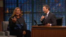 'Late Night': Queen Latifah Doesn't Like to Die in Movies
