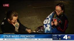 Star Wars Fans Camp Out for Premiere