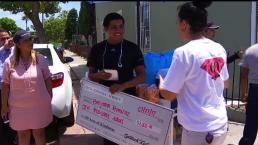 Street Vendor Gets Surprise Check After Cart is Tossed