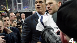 Tom Brady Shares a Moment With Family After Winning Super Bowl LIII