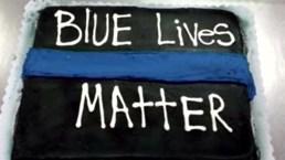 Wal-Mart Rejects 'Blue Lives Matter' Cake