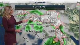 AM Forecast: Showers Continue Into Monday