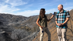 Into the Fire Zone: A Look Inside the Woolsey Fire's Restricted Area