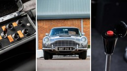 Photos: This Legendary Aston Martin Bond Car With 'Goldfinger' Gadgets Went for $6.4M at Auction
