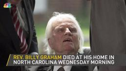 Billy Graham, Evangelist Pastor, Dies at 99