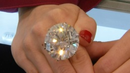 Shine Bright: Mega 110-Carat Diamond
