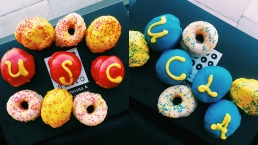 Astro Doughnuts Selling USC-UCLA Minis for Saturday's Game