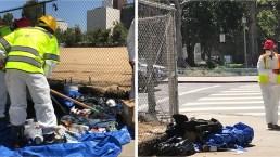 Street Cleanup Gets Underway in Downtown LA
