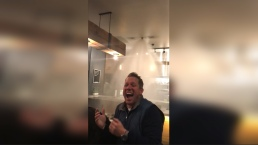 Flaming Cheese Sets Off Sprinklers Inside Restaurant