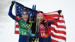 Feb. 21 Olympics Photos: US Teams Win Medals, Break Records