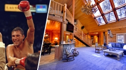 Oscar De La Hoya's Ex-Big Bear Training Site on Sale