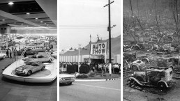 Wayback Machines: Photos From the Early Days of the LA Auto Show