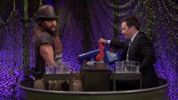 'Tonight': Water War With Jason Momoa