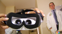 Hospitalized Patients Use Virtual Reality