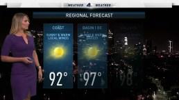 AM Forecast: Fire Weather Danger