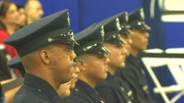 New Officers Join the LAPD, Chief Beck Attends Graduation