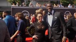 Athletes Bring the Bling at ESPYs Red Carpet