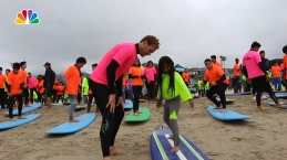 Local Children Catch Waves for the First Time at Annual Surf Summit