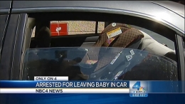 Baby Found in Car on Hot Day; Mother Arrested