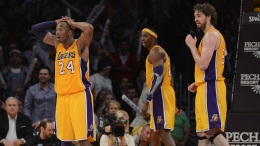 Kobe Has Fever; Lakers Ice Cold