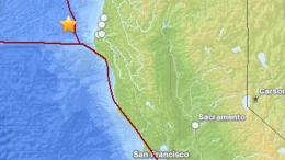6.8-Magnitude Quake Strikes Off NorCal Coast