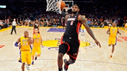 LeBron's Heat Host Howard's Lakers
