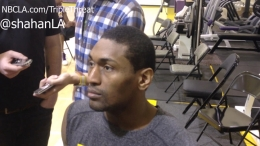 Lakers' Metta World Peace Pops Off On Flagrant Fouls