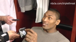 Metta World Peace Speaks Out Following Lakers' Win
