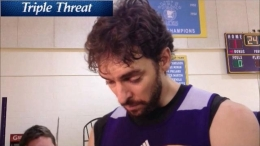 Gasol on Injuries, Goals, Lakers' Bench