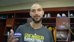 Robert Sacre: What's in My Locker?