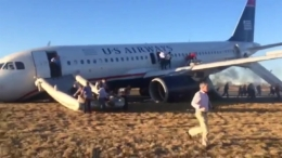RAW VIDEO: Plane Evacuated After Wheel Failure