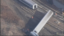 Chopper: Metro-North Train Derailment