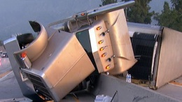 Big Rig Crashes Into Monrovia Freeway Divider