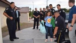 Daughter of Fallen Officer Gets Surprise Police Escort