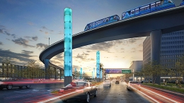 Here's What LAX's Automated People Mover Will Look Like