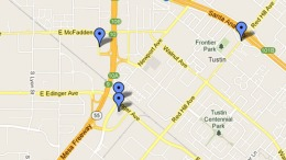 Feb. 19, 2013: Map of OC Shooting Locations