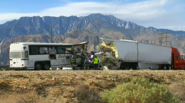 13 Killed, 31 Injured in Tour Bus Crash in Palm Springs Area