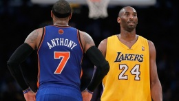 Kobe & Lakers in New York to Face Melo's Knicks