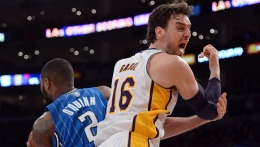Lakers Without Gasol vs Houston Rockets
