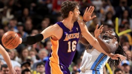 MRI Reveals Gasol Suffering from Plantar Fasciitis
