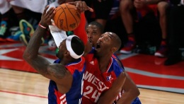 All-Star Game: Kobe Bryant Blocks LeBron James