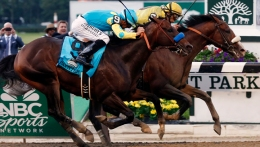 Union Rags Wins Belmont
